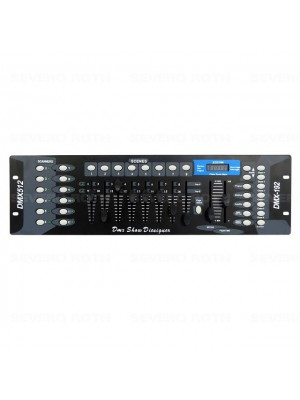 foto Mesa Control Dmx 512 All Tech Ou Digi Light - Pc