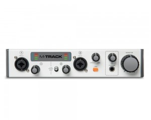 Interface Placa M-audio Mtrackll 2 Canais Reduzida Usb
