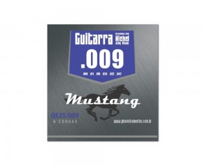 Encordoamento Mustang Guitarra 009 Qe25-009 Nickel Alloy Phx