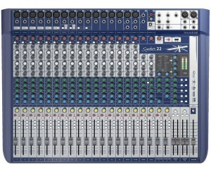 foto Mesa de Som Soundcraft Signature 22 Canais Harman