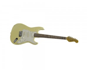 Guitarra Condor Rx20s Strato White Vintage Bege Creme Outlet