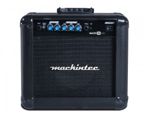 "Cubo de Guitarra Mackintec Maxx 15 Color 15w Rms 6"" C/ Distorção"